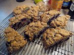 Blueberry Coffee Cake Scones