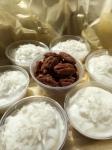Coconut puddings (aka Haupia)