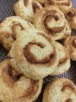 Cinnamon Cream Scones - before icing