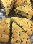 Coconut Mini Chocolate Chip Scones