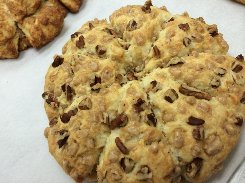 Toffee Pecan Scones